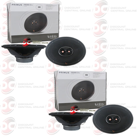 "4x Infinity Primus PR9613IS 6x9"" 3-Way Car Audio Speakers"