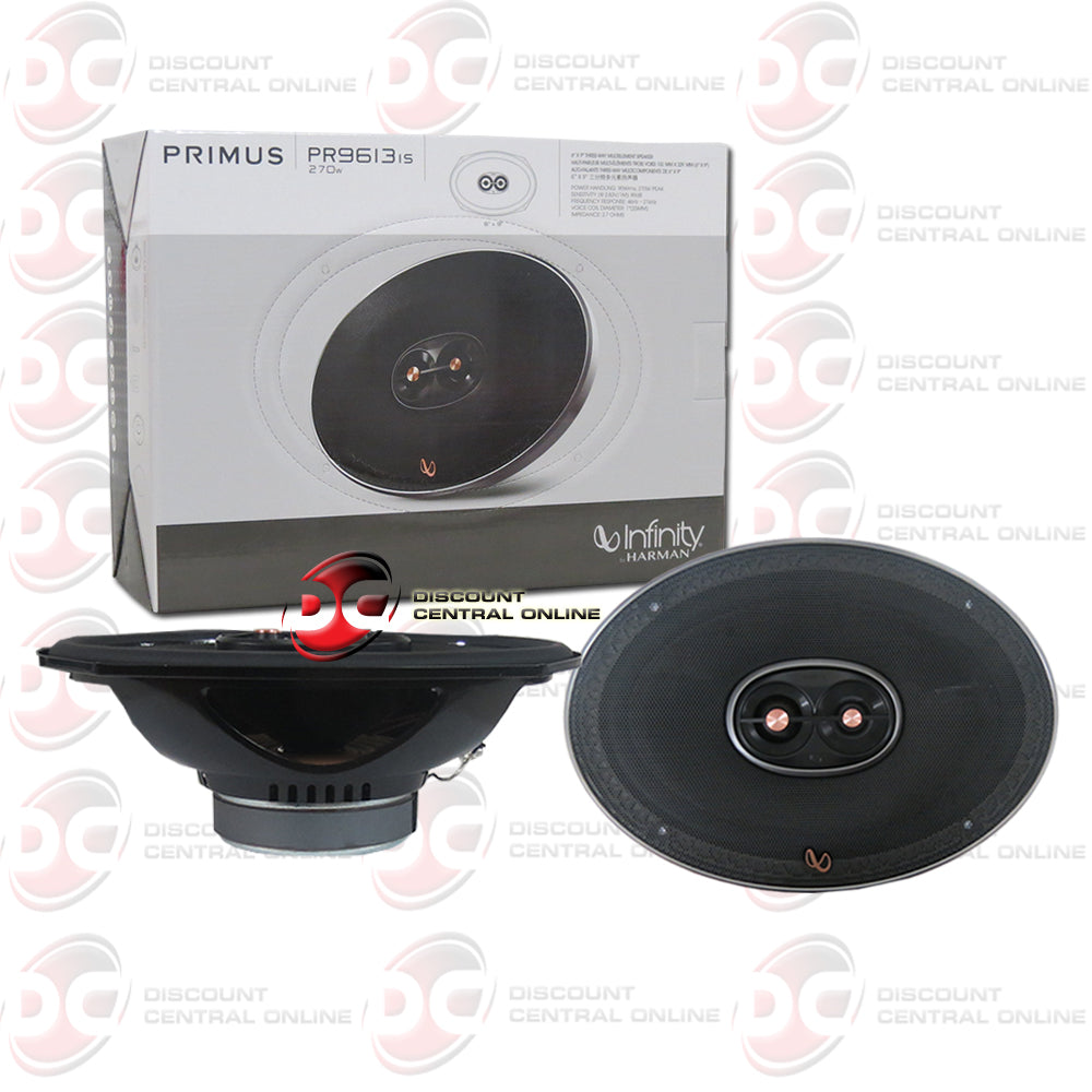 "Infinity Primus PR9613IS 6x9"" 3-Way Car Audio Speakers"