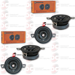 "4 X MEMPHIS PRX3 3-1/2"" CAR AUDIO SPEAKERS  (POWER REFERENCE SERIES)"