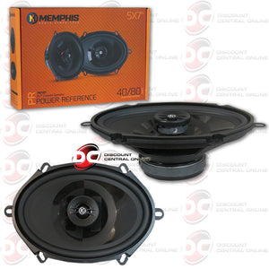 "MEMPHIS PRX57 5""x7"" CAR AUDIO SPEAKERS"