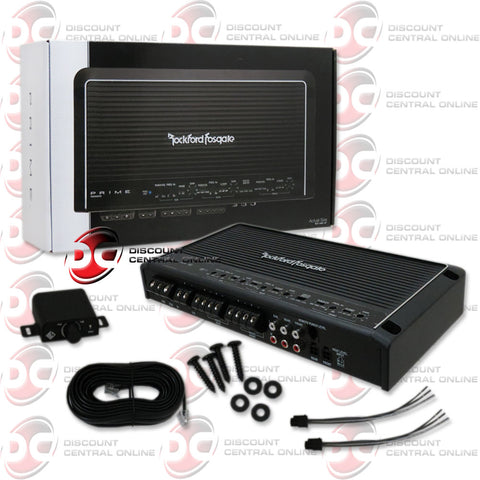 ROCKFORD FOSGATE R600X5 50W 5-CHANNEL CAR AUDIO AMPLIFIER (PRIME SERIES)