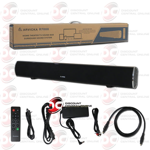 Arvicka R7000 Home Theater Sound Bar Surround Sound Speaker With Bluetooth