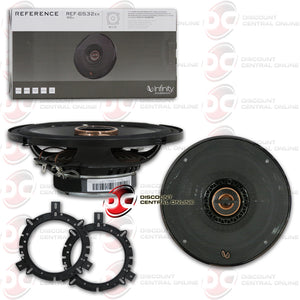 "INFINITY REF-6532EX 6.5"" CAR COAXIAL SPEAKERS"