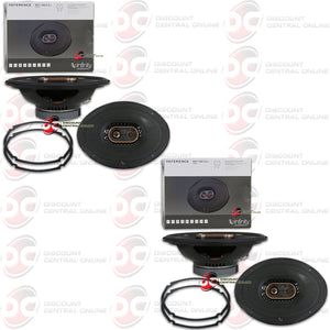 "INFINITY REF-9633ix 6"" x 9"" 3-WAY CAR COAXIAL SPEAKERS (2 PAIRS)"