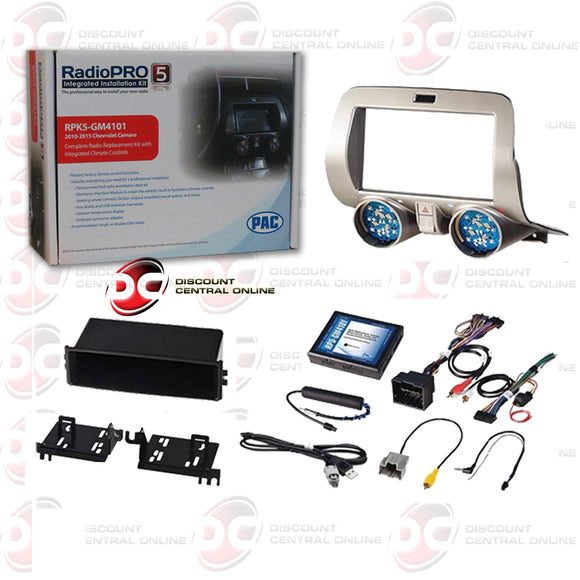 PAC-RPK5-GM4101 2-DIN Installation Kit For 2010-2015 Chevrolet Camaro Vehicles