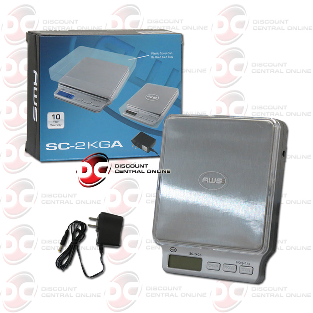 American Weight Scales SC-2KGA Digital Pocket Scale