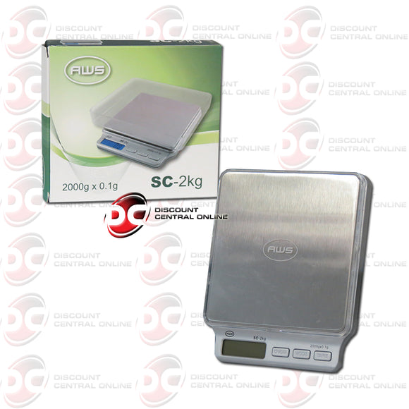 American Weight Scales SC-2KG Digital Pocket Scale
