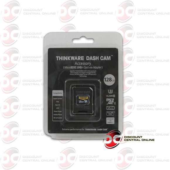 THINKWARE SMU128 128GB DASH CAM UHS-I MICRO SDXC CARD