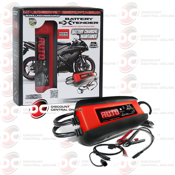 Schumacher SP3 6/12 Volt 3 AMP Battery Extender Charger Maintainer