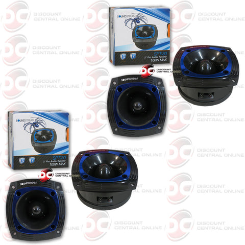 "2 x Soundstream SPT.30 100W 2"" Pro Audio Super Tweeter (2 Tweeters)"