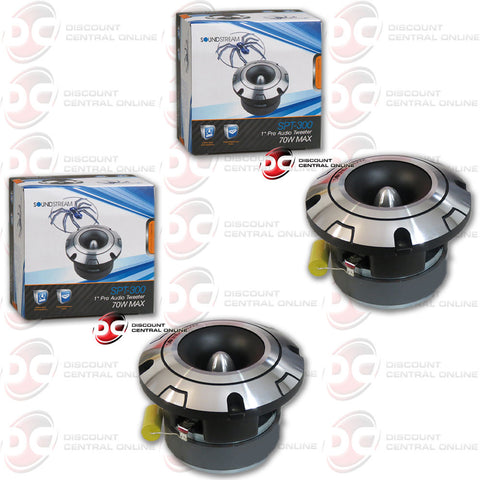 "Soundstream SPT.300 70W 1"" Pro Audio Series Car Tweeter (2 Tweeters)"