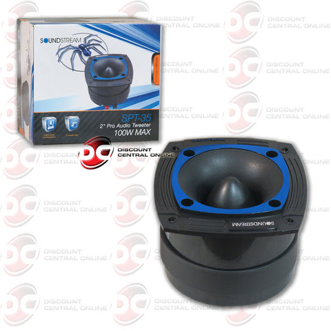 "SOUNDSTREAM SPT.35 100W 2"" CAR AUDIO TWEETERS (PRO AUDIO SERIES )"