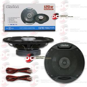 "CLARION 6.5"" 2-WAY CAR COAXIAL SPEAKERS"