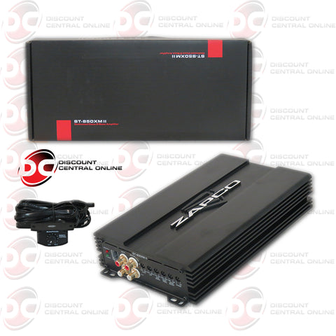 ZAPCO ST-850XMII (850W RMS) 1-CHANNEL CLASS D CAR AUDIO MONO BLOCK AMPLIFIER