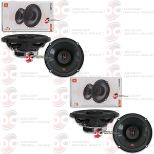 "JBL STAGE3 627F 6.5"" 2-WAY CAR COAXIAL SPEAKERS (2 PAIRS)"