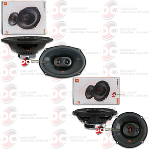 "JBL STAGE3 9637F 6x9"" 3-WAY CAR COAXIAL SPEAKERS + STAGE3 637F 6.5"" 3-WAY CAR COAXIAL SPEAKERS"