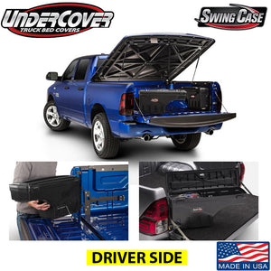 UNDERCOVER SWINGCASE TOOLBOX SC201D 1999-2014 FORD F150 DRIVER SIDE