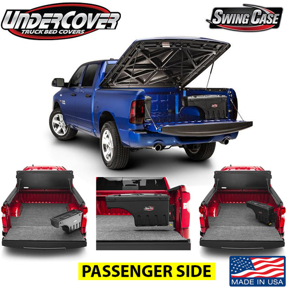 UNDERCOVER SWINGCASE TOOLBOX SC201P 1999-2014 FORD F150 PASSENGER SIDE