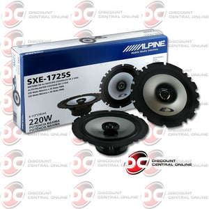 "Alpine SXE-1725S 6.5"" Car Audio Speakers (Pair)"