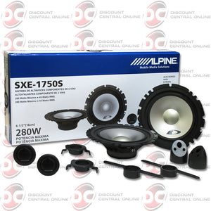 "Alpine SXE-1750S 6.5"" Car Audio Speakers"