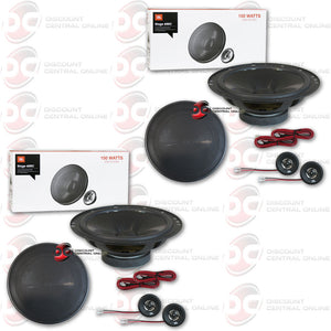 "JBL Stage 600C 6-1/2"" Component Speaker System (2 Pairs)"