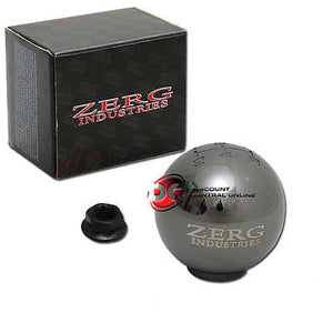 5 SPEED SILVER SHIFT KNOB FITS MOSTLY HONDA AND ACURA VEHICLES