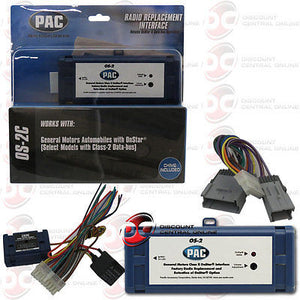 PAC OS-2C ONSTAR INTERFACE FOR SELECT 2000-08 GM VEHICLES 0S2C