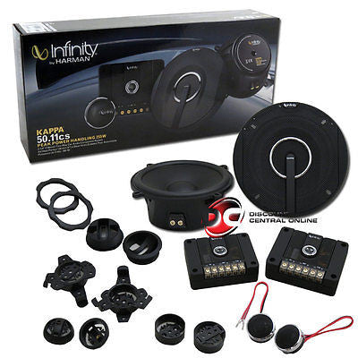 "Infinity Kappa 50.11cs 5.25"" 2-way Car Audio Component System"