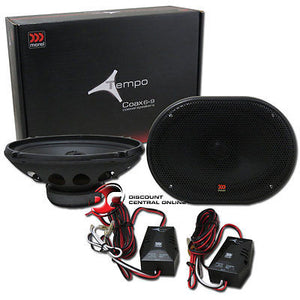 "MOREL TEMPO C69 6 x 9"" CAR AUDIO COAXIAL SPEAKERS (PAIR) Tempo C69"