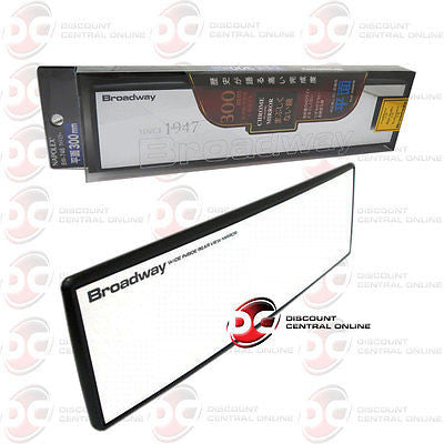 300MM FLAT CAR REAR VIEW BROADWAY MIRROR HID BW706