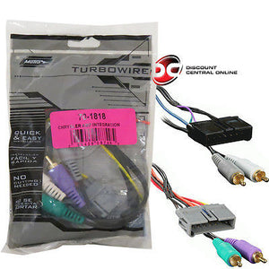 METRA 70-1818 LOW LEVEL AMPLIFIER INTEGRATION HARNESS FOR SELECT CHRYSLER