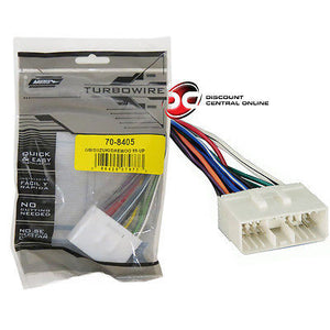 metra 70-8405 wiring harness for 1999-2002 daewoo vehicles –  discountcentralonline