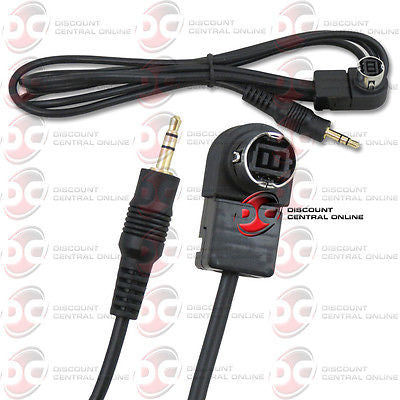 4 FEET 3.5mm AUX INPUT CABLE TO JVC IP-BUS AUX INPUT ADAPTER CABLE