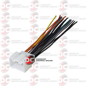 Aftermarket Stereo Wiring Harness For Select 1998-2008 Ford, Lincoln & Mercury