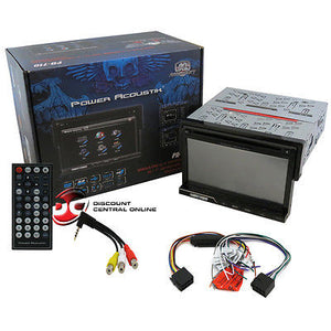 "POWER ACOUSTIK PD-710 7""TOUCHSCREEN DVD/CD RECEIVER W/FRONT USB & SD CARD READER"