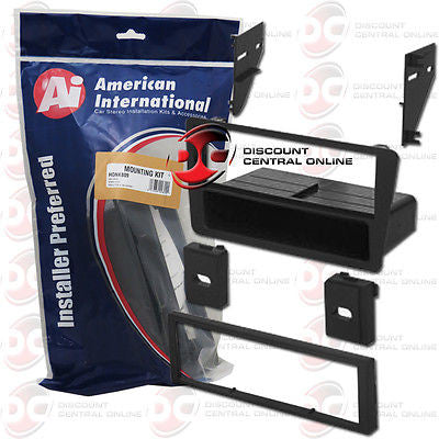 AMERICAN INTERNATIONAL HON-K809 CAR STEREO SINGLE DIN DASH KIT W/POCKET HONK809