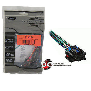 METRA 71-2105 REVERSE WIRING HARNESS FOR SELECT GM VEHICLES
