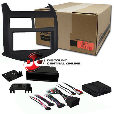 METRA 99-3012G CAR SINGLE/ DOUBLE DIN DASH KIT FOR 2012 CHEVY SONIC VEHICLES