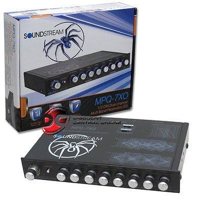 SOUNDSTREAM MPQ-7XO 7-BAND CAR EQUALIZER