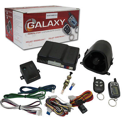 SCYTEK G5000RS-2W 2-WAY CAR SECURITY SYSTEM W/ REMOTE START & DATA BUS PORT