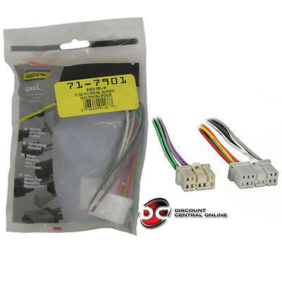 METRA 71-7901 REVERSE WIRING HARNESS FOR SELECT 1990-UP MAZDA INTO OEM RADIO