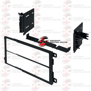 CAR DOUBLE DIN DASH KIT FOR SELECT 1990-2012 GENERAL MOTORS & IMPORT VEHICLES