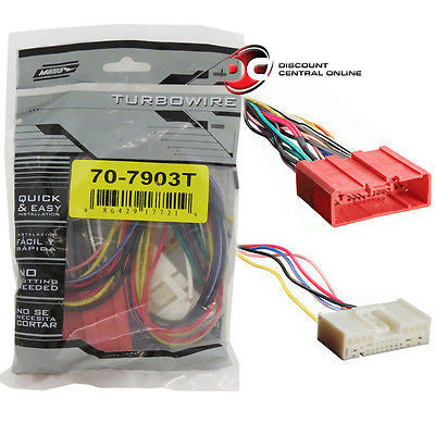 METRA 70-7903T REVERSE WIRING HARNESS FOR SELECT 2007-UP MAZDA VEHICLES