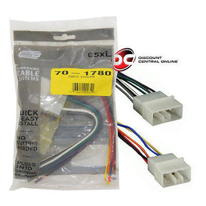 metra 70-1780 wiring harness for 1989-1994 subaru legacy/ justy vehicl –  discountcentralonline