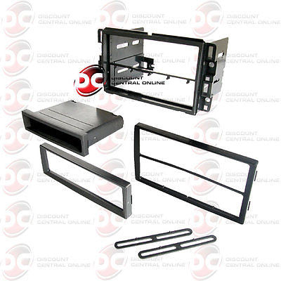 CAR SINGLE/ DOUBLE DIN DASH KIT FOR SELECT 2006-2009 GENERAL MOTORS VEHICLES