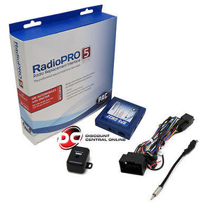 PAC RP5-GM32 RADIO REPLACEMENT & SWC INTERFACE W/ BUILT-IN ONSTAR RETENTION