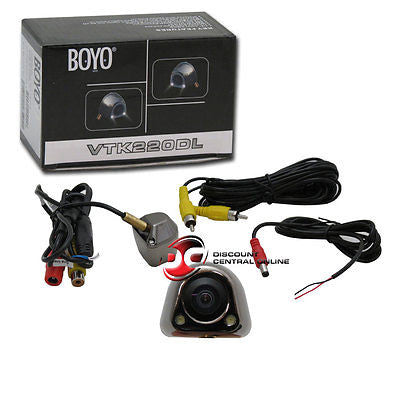 BOYO-VTK220DL Universal Waterproof License Plate Hole Rearview Backup Camera