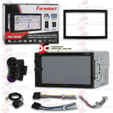 "FARENHEIT TIN-702HB 2-DIN 7"" LCD CAR DVD/CD/USB RECEIVER WITH BLUETOOTH PHONELINK AND GPS NAV"