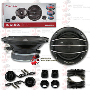 "PIONEER TS-A1304C 5.25"" CAR COMPONENT SPEAKERS"