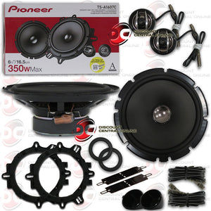"PIONEER TS-A1607C 6.5"" SEPARATE 2-WAY CAR COMPONENT SPEAKER SYSTEM"